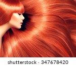 Beautiful Hair. Beauty Woman...