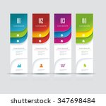 banner on the product... | Shutterstock .eps vector #347698484