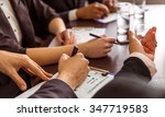 young business people at a... | Shutterstock . vector #347719583
