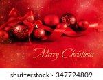 christmas background | Shutterstock . vector #347724809