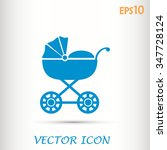 vector icon buggy | Shutterstock .eps vector #347728124