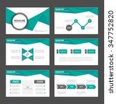 green and black presentation... | Shutterstock .eps vector #347752820