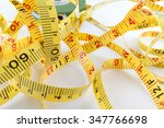 Close Up  Measuring Tape On...