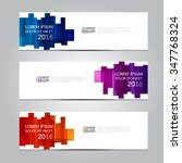 vector design banner... | Shutterstock .eps vector #347768324