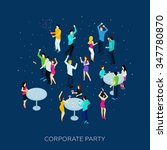 Corporate Party Concept With...