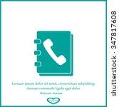 telephone directory | Shutterstock .eps vector #347817608