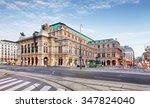 vienna opera house  austria   Shutterstock . vector #347824040