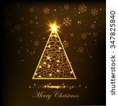 merry christmas | Shutterstock .eps vector #347825840