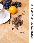Small photo of Fruity citrus aftertaste of coffee arabica