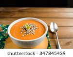 Homemade Vegan Tomato Soup Wit...