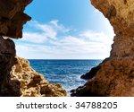 inside of mainsail. nature... | Shutterstock . vector #34788205