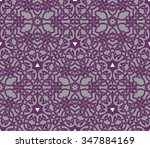 seamless pattern with vintage... | Shutterstock .eps vector #347884169