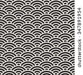 vector seamless black and white ... | Shutterstock .eps vector #347891954