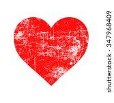 illustration vector red grunge... | Shutterstock .eps vector #347968409