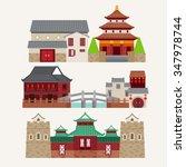 vector of chinatown  | Shutterstock .eps vector #347978744