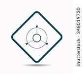 gps navigation. icon