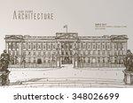 buckingham palace | Shutterstock .eps vector #348026699