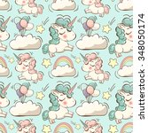 Vector Pattern With Cute...