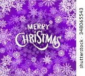 christmas light background....   Shutterstock . vector #348065543