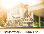 model house with your deposit... | Shutterstock . vector #348071723