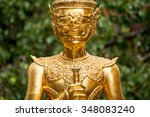 Traditional Golden Statues....