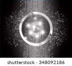dark black color light abstract ... | Shutterstock .eps vector #348092186