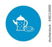 teapot icon. | Shutterstock .eps vector #348113000