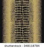reptile seamless pattern | Shutterstock .eps vector #348118784