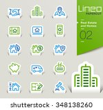lineo papercut   real estate...   Shutterstock .eps vector #348138260