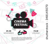 Cinema Festival Poster With...