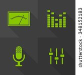 vector flat icons   audio