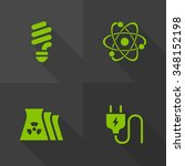 vector flat icons   energy