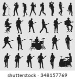 big musician collection | Shutterstock .eps vector #348157769