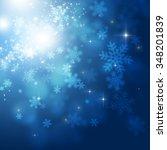 abstract christmas snow winter...   Shutterstock . vector #348201839
