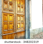 old door in italy land europe... | Shutterstock . vector #348202319