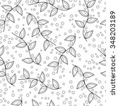 seamless vector pattern with... | Shutterstock .eps vector #348203189