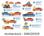 car insurance | Shutterstock .eps vector #348220529