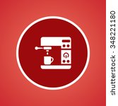 coffee machine icon   Shutterstock .eps vector #348221180