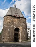 Small photo of The small marchgate in aachen, germany