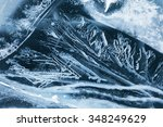 Natural Background Spring Ice...