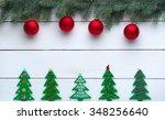 beautiful celebratory christmas ... | Shutterstock . vector #348256640
