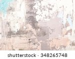 hand drawn oil painting.... | Shutterstock . vector #348265748