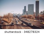 chicago skyline.lake shore drive | Shutterstock . vector #348278324
