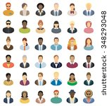 People Icons   Set Of Thirty...