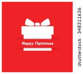 merry christmas and happy...   Shutterstock .eps vector #348311636