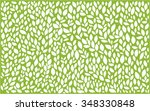 leaves abstract background | Shutterstock .eps vector #348330848