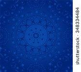 vector seamless pattern....   Shutterstock .eps vector #348334484