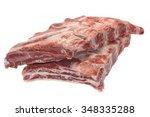Raw Black Angus Marbled Beef...