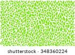 leaves pattern | Shutterstock .eps vector #348360224
