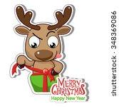 christmas card | Shutterstock .eps vector #348369086